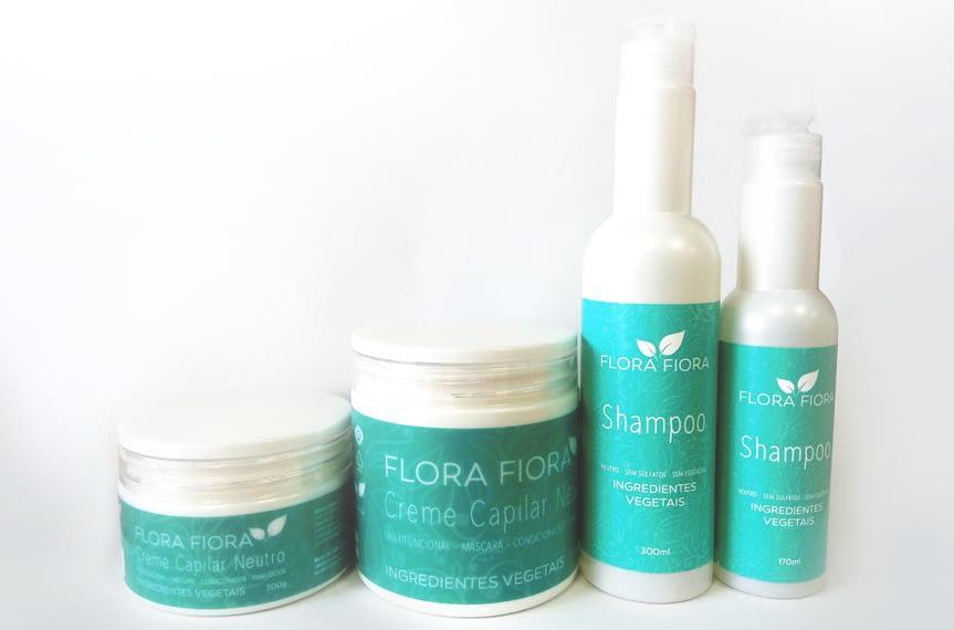 Lançamento: Shampoo e Creme Capilar Neutro Flora Fiora!